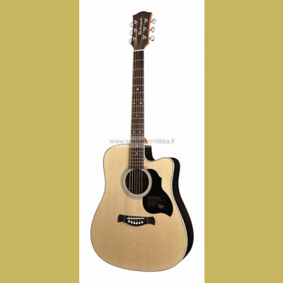 D-60-CE with PRESYS201 Richwood Master Series handmade dreadnought cutaway