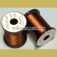 Runkosilkki UNI FLOSS rayon Brown