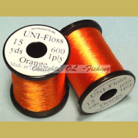 Runkosilkki UNI FLOSS rayon Orange