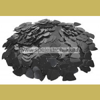 Selluloidiplektra Black Boston Medium 0.70mm 1kpl