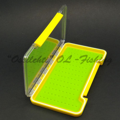 Slim fly box slim fly box with notched silicone base TFH™
