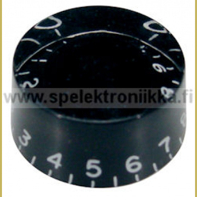 Speed nuppi (hatbox) black SPNUPBTUUMA