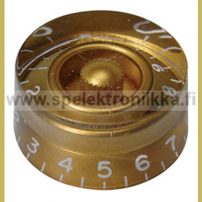 Speed Hatbox nuppi gold SPNUPGD