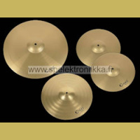 "Symbaalisetti 14"" hihats 16"" crash and 20"" ride Cruz"