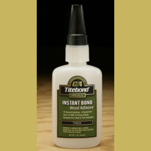 Titebond Instant Bond Wood Glue Thick n. 59 ml 2 OZ