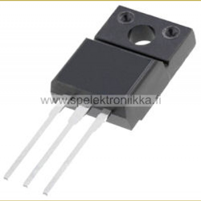 STP10NK60ZFP N-MOSFET unipolar 600V 10A 35W TO220ISOLATED