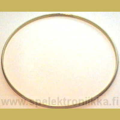 TONERING hoop ring messinkiä banjolle