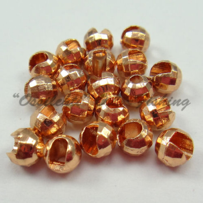 Tungsten Disco Beads Copper 4.5 mm 20kpl TFH®