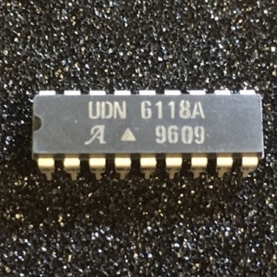 UDN6118 UDN6118A Vacuum fluorescent display driver