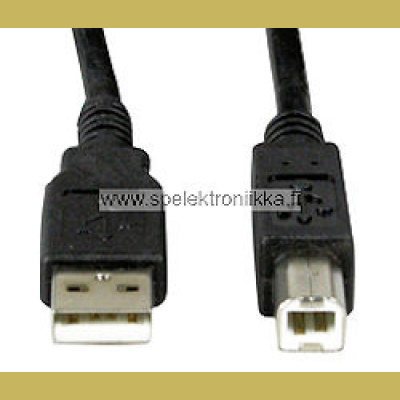 USB A / B -kaapeli 3 m USB 2 Hi Speed