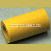 Rubber sleeve 250363, yellow, 22 mm