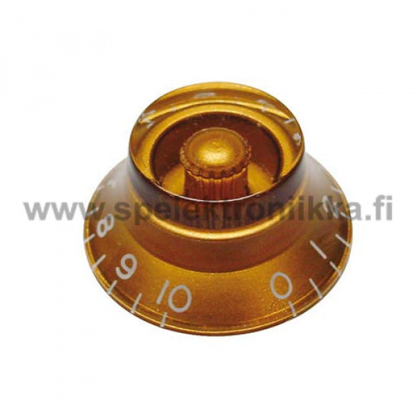 Bell Top Hat nuppi amber BENUPAMBER transparent