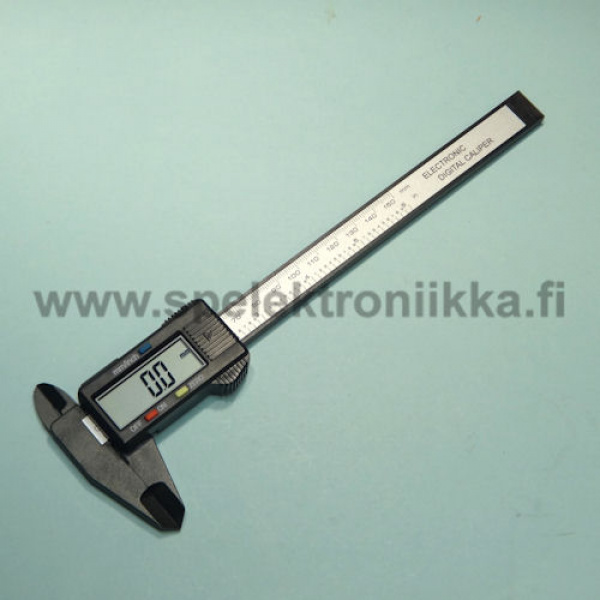 Digital caliper carbon composite not electrically conductive  150 mm