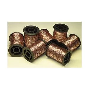 TFH™ Sparkle Thread Silver / Brown