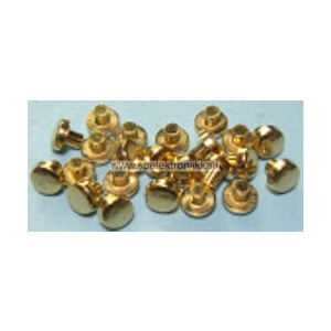 Small gold plated contact point 220063