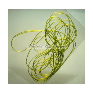 Smooth Maggot Flat Body String Olive Chartreuse TFH™