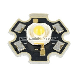 LED teholed 1W  lambertian typ. 3300K typ. 120 lm warm white