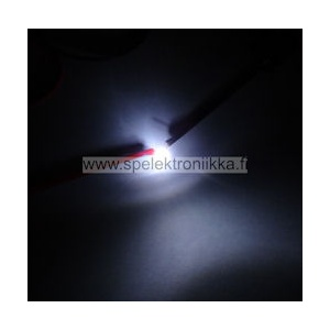 Superkirkas LED 5mm Pure White typ. 23000 mcd