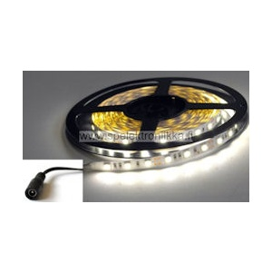 LED -nauha superkirkas 5050 pure (neutral) white kosteussuojattu IP65 EPISTAR LE