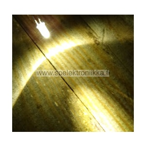 Superkirkas LED 5mm Warm White typ. 35000 mcd