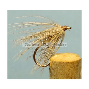 March Brown soft hackle spider