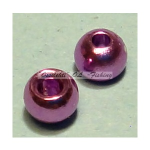 "Messinkikuulat TFH® 2.8mm 7/64"" 20kpl Anodisoitu lucent metallic LIGHT PURPLE"