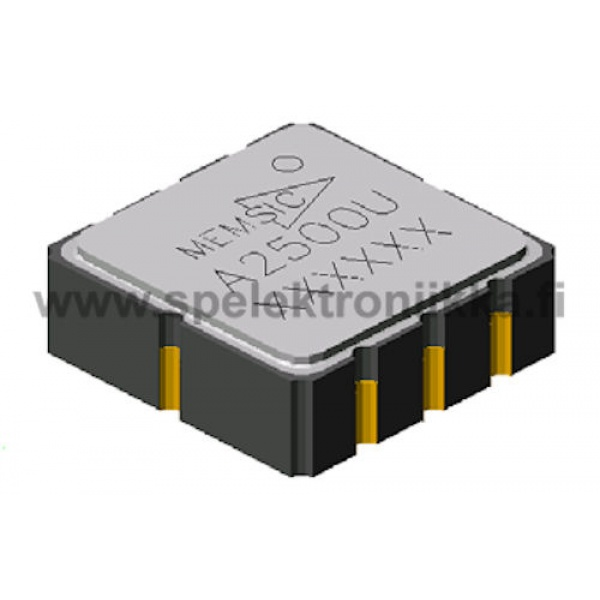MXA2500U SMD Ultra Low Noise, ±1 g Dual Axis Accelerometer with Analog Outputs MEMSIC