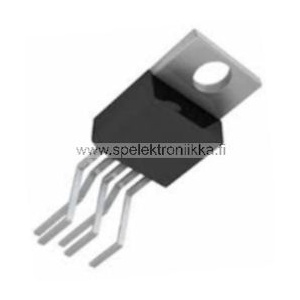 L487A Very Low Drop 5V regulator 500mA, Reset Pentawatt