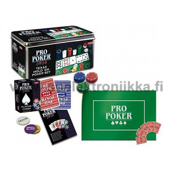 Texas Holdem pokerisetti