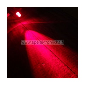 Superkirkas LED 5mm Punainen typ. 10 000  mcd