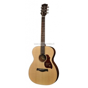 A-20-E with ISYS 601 Richwood Master Series handmade auditorium OOO guitar