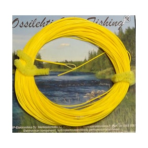 Running line 30m 0.8mm yellow with one end loop TFH™