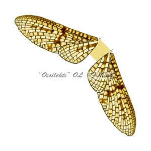 Spinner Wings Mayfly SMW 003 Yellow S 10kpl