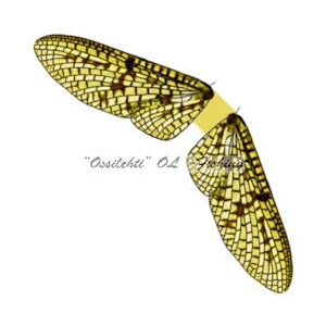 Spinner Wings Mayfly SMW 004 Olive M 10kpl
