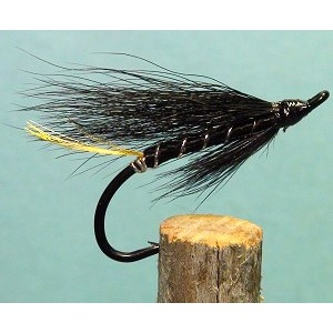 Stoat's Tail Black single hook
