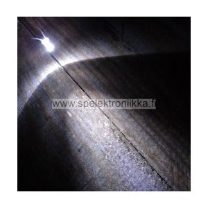 LED 3mm Superkirkas Cool White 8000 - 15000 mcd
