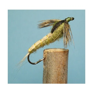 Swimming Caddis Tan