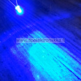 LED 3mm Superkirkas Sininen 3500 mcd 40 astetta