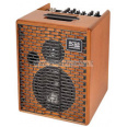 Acus One 6T akustinen 3 kanavainen, kaiku, vahvistin 130W puu One For Strings