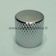 Metallinuppi 18 x 19 push to fit kromi flat 6mm akselille