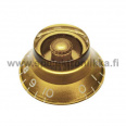 Bell Top Hat nuppi gold BENUPGOLD transparent
