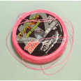 Hollow Super Strong 12 x Braided Line DuraKing Maxis Fluo Pink 0.50 150m 60.5kg