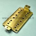 Humbucker pohjalevy pitch 50 mm HUBB507 messinki