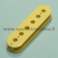 Vintage humbucker bobbin for 4.8 mm polepiece 50 mm pitch cream