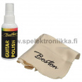 Boston guitar maintenance kit polish and cloth 60ml spray bottle