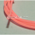 Larva Round Hollow Bodytube HOT PINK 1m TFH™