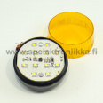 LED strobelight orange 12V / 120mA