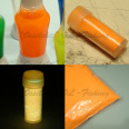Glow powder for lure making ice jig making orange TFH®