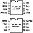 MAX666CPA Programmable micropower regulator DIP-8 kotelo