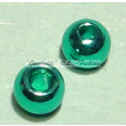 "Messinkikuulat TFH® 3.8mm 5/32"" 20kpl Anodisoitu lucent metallic AQUA GREEN"
